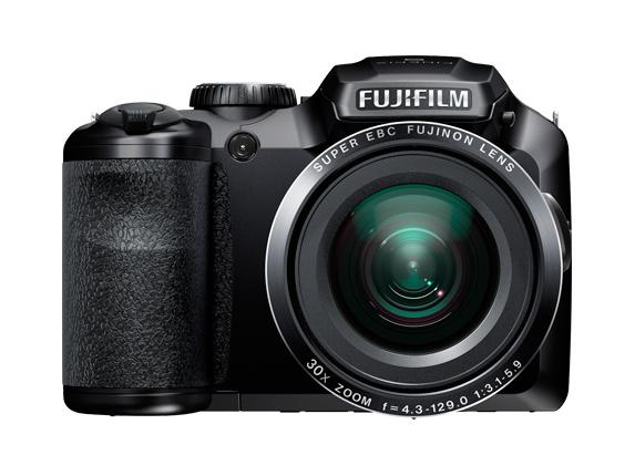 Appareil photo Fuji - Bridge FinePix S6800 Noir - CMOS 16MP