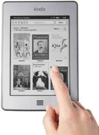 """Liseuse Kindle Touch 6"""" avec multi-touch (Reconditionné Certifié)"""