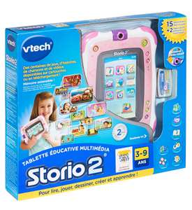 Tablette Tactile Enfant Vtech Storio rose ou bleue