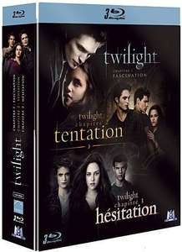 Coffret Blu-ray Twilight Édition Limitée - Chapitre 1 à 3