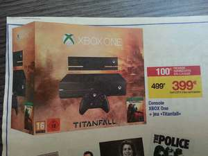 Pack console Xbox one & Titanfall avec Kinect