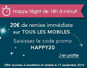 [Jusqu'à minuit] 20€ de reduction sur les mobiles avec engagement 24 mois