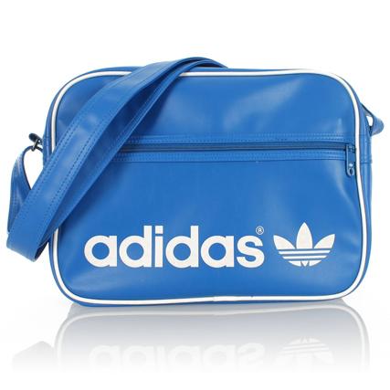 Sac bandoulière Adidas Airliner - Bleu