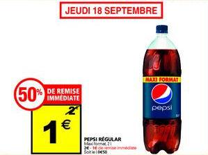 Bouteille Pepsi 2L