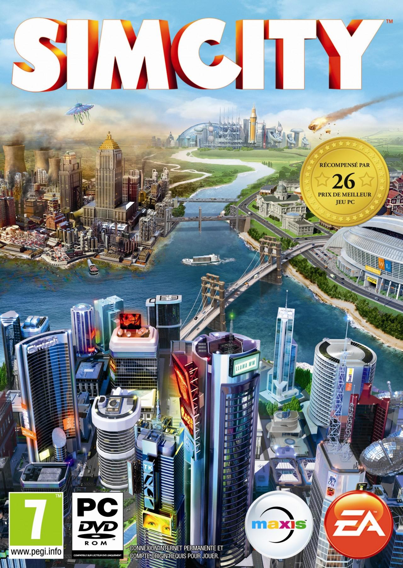 SimCity sur PC/MAC (Dématérialisé)