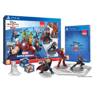 Pack de démarrage Disney Infinity 2.0 Marvel Super Heroes sur PS4