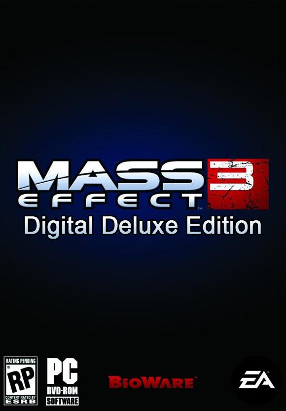 Mass Effect 3 Deluxe Edition sur PC (Dématérialisé)