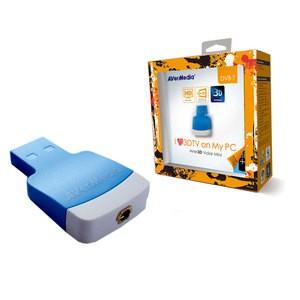 Adaptateur Mini Tuner TNT, TNT HD et TV3D, USB 2.0 externe AVerMedia AVer3D Volar avec code promo