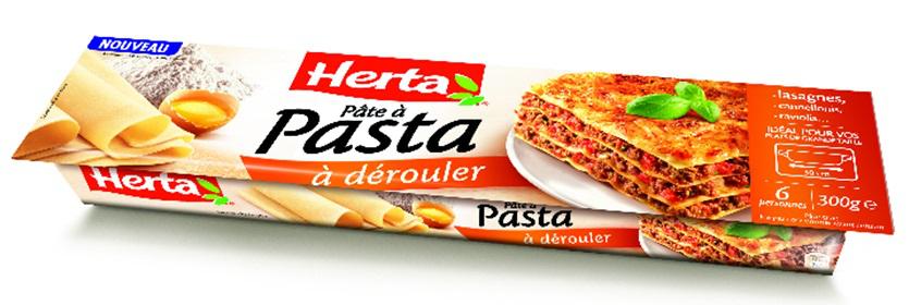Pâte à pasta Herta gratuite