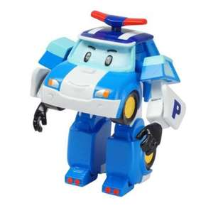 Pack de 5 figurines Robocar 8 cm