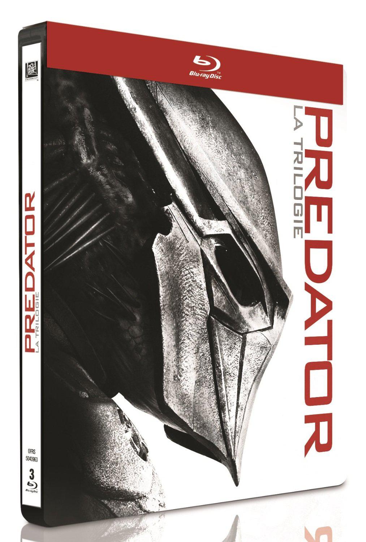 Coffret Blu-Ray: Predator : La trilogie - Édition Limitée boîtier SteelBook