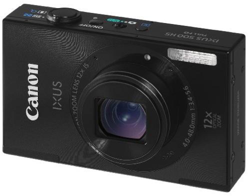 Appareil photo numérique Canon 500 HS - 10.1 Mpix - Zoom 12x -