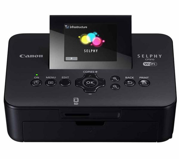 Imprimante photo couleur Canon Selphy CP910 - à sublimation thermique - sans fil AirPrint + réseau