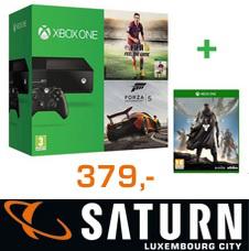 Console Xbox One + Fifa 15 + Forza Motorsport 5 + Destiny
