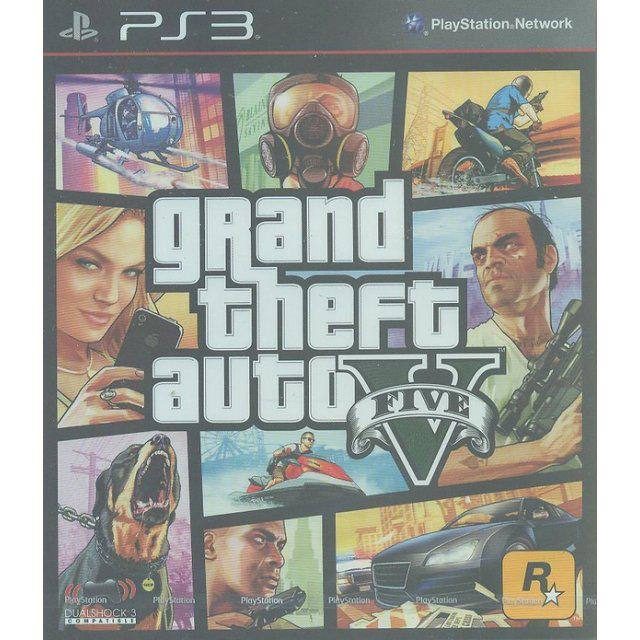 Jeu Grand Theft Auto 5 sur  PS3