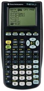 Calculatrice graphique en Français Texas Instruments TI 82