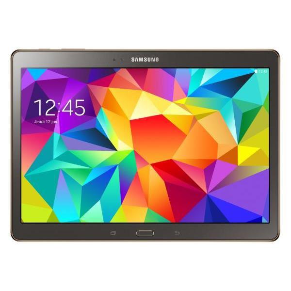 "Tablette Galaxy Tab S 10"" Bronze Titanium - 16Go (avec ODR 100€)"