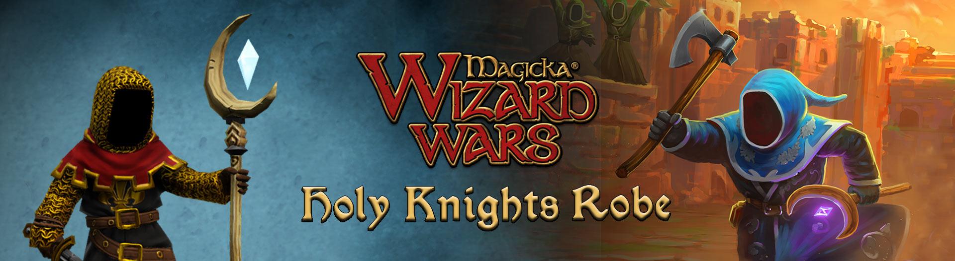 DLC Magicka: Wizard Wars - Holy Knights Robe gratuit sur PC (Dématérialisé)