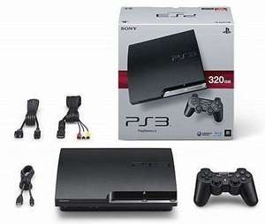 Console Sony PS3 Slim 320 Go (Occasion)