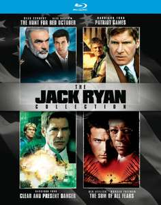 Coffret Blu-ray The Jack Ryan Collection (4 Films)