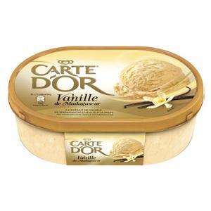 Crème glacée ou sorbet Carte d'Or 1L - Différents parfums (dont 1.43€ sur la carte)