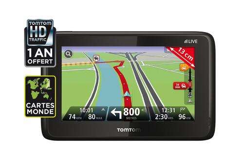 GPS Tom Tom Go Live 1005 World (carte mondiale)