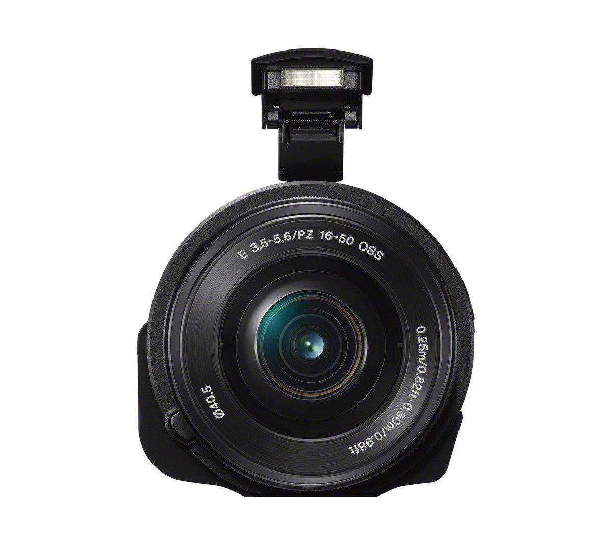 Précommande : Appareil photo compatible smartphone Sony QX1 - Capteur 20.1 Mpx + Objectif 16-50 mm - Wifi/NFC