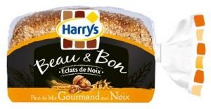 Harrys Pain Beau & Bon aux éclats de noix et Pain 100% Mie 7 céréales gratuits