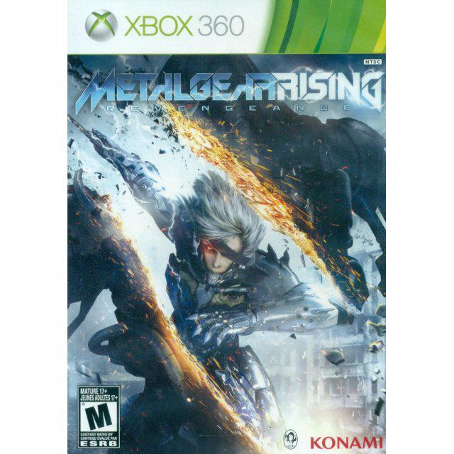 Metal Gear Solid Revengeance sur Xbox 360