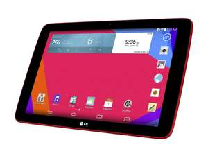 Précommande : Tablette LG GPad V700 10,1' Quad Core 16 Go Android 4.4.2 - Rouge