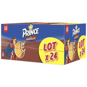 Lot de 24 paquets de Prince de Lu (avec 13.48€ sur la carte de fidélité)