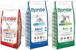 100gr de croquettes Monge (100% naturelles) gratuites