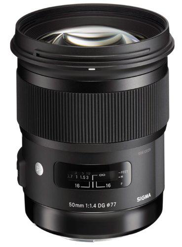 Objectif Sigma 50 mm F1,4 DG HSM ART - Monture Canon