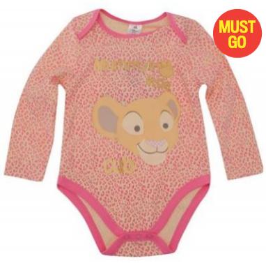 Jusqu'à -80% sur une sélection de vêtements Disney - Ex : Bodysuit Ensemble Bébés