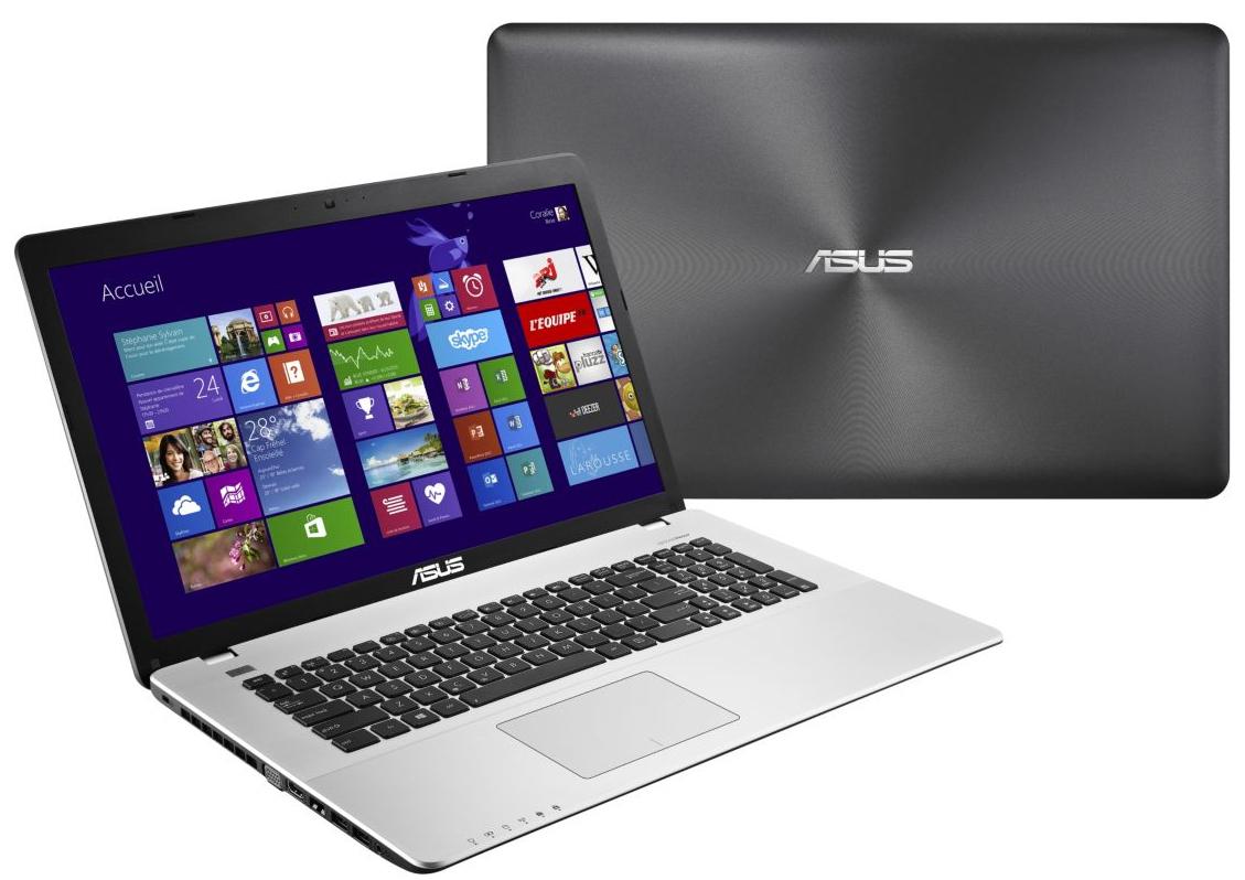 """PC Portable Asus R751LN-T4144H - Ecran 17.3"""", Core i7, RAM 8Go"""