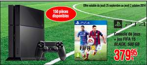 Pack Console PlayStation 4 + Fifa 15