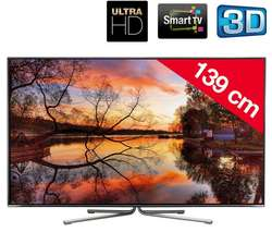 "Téléviseur Changhong 55"" LED 3D Smart TV Ultra HD 4K"