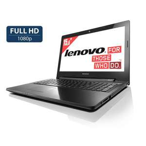 "PC portable Lenovo - Intel Pentium 3558U - 15,6"" Full HD - 8Go de RAM - 1To"