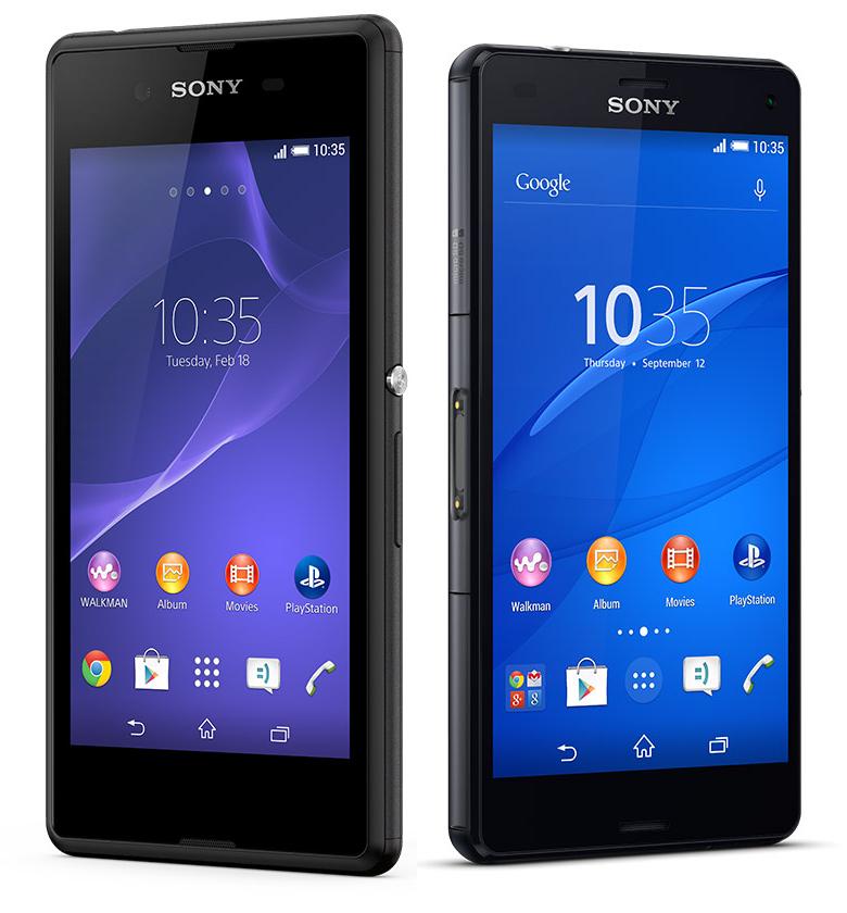 Précommande : Smartphone Sony Xperia Z3 Compact + Smartphone Sony Xperia E3