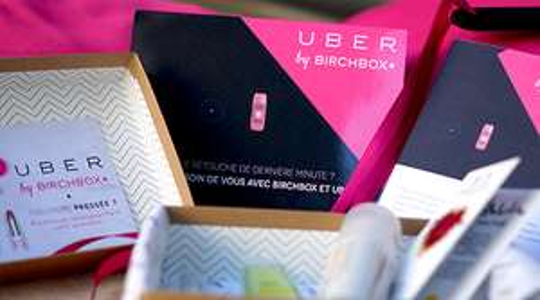 Box Uber By BirchBox offerte pour toute course