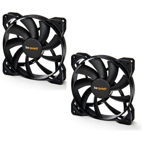 Pack de 2 ventilateurs Be Quiet! Pure Wings 2 - 120 mm