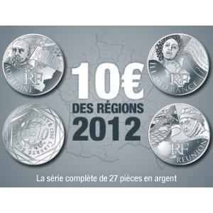 Piece argent de 10 euro à la poste