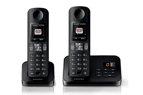 Téléphone sans fil Philips D6052 - Noir
