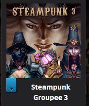 Steampunk 3 bundle - 5 jeux, 6 albums de musique et 4 ebooks et comics