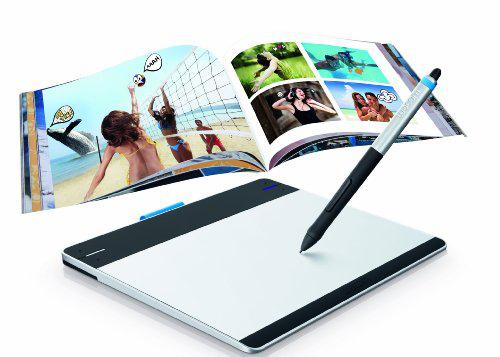 "Tablette à stylet sans fil Wacom CTH-480 ""Intuos Pen Touch Manga"""