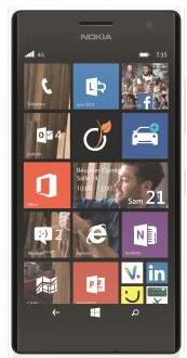 Smartphone Lumia 735 + MicroSD 32Go + Socle de chargement sans fil DT601