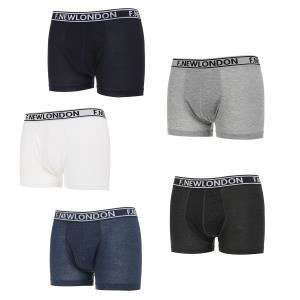 Lot de 5 Boxers Homme F. New London du M au XXL