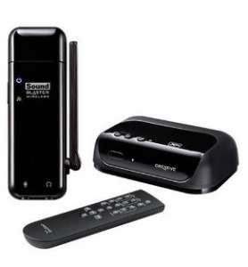 Kit Sound Blaster Wireless pour iTunes + Wireless Receiver