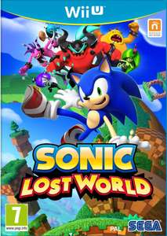 Sonic Lost World sur Wii U