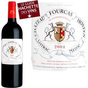 Pack de 6 Bouteilles de vin rouge Château Fourcas Hosten Listrac 2004